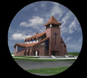 Kościół św. Hieronima wg projektu