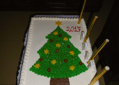 Urodzinowy tort dla Jezusa 2017