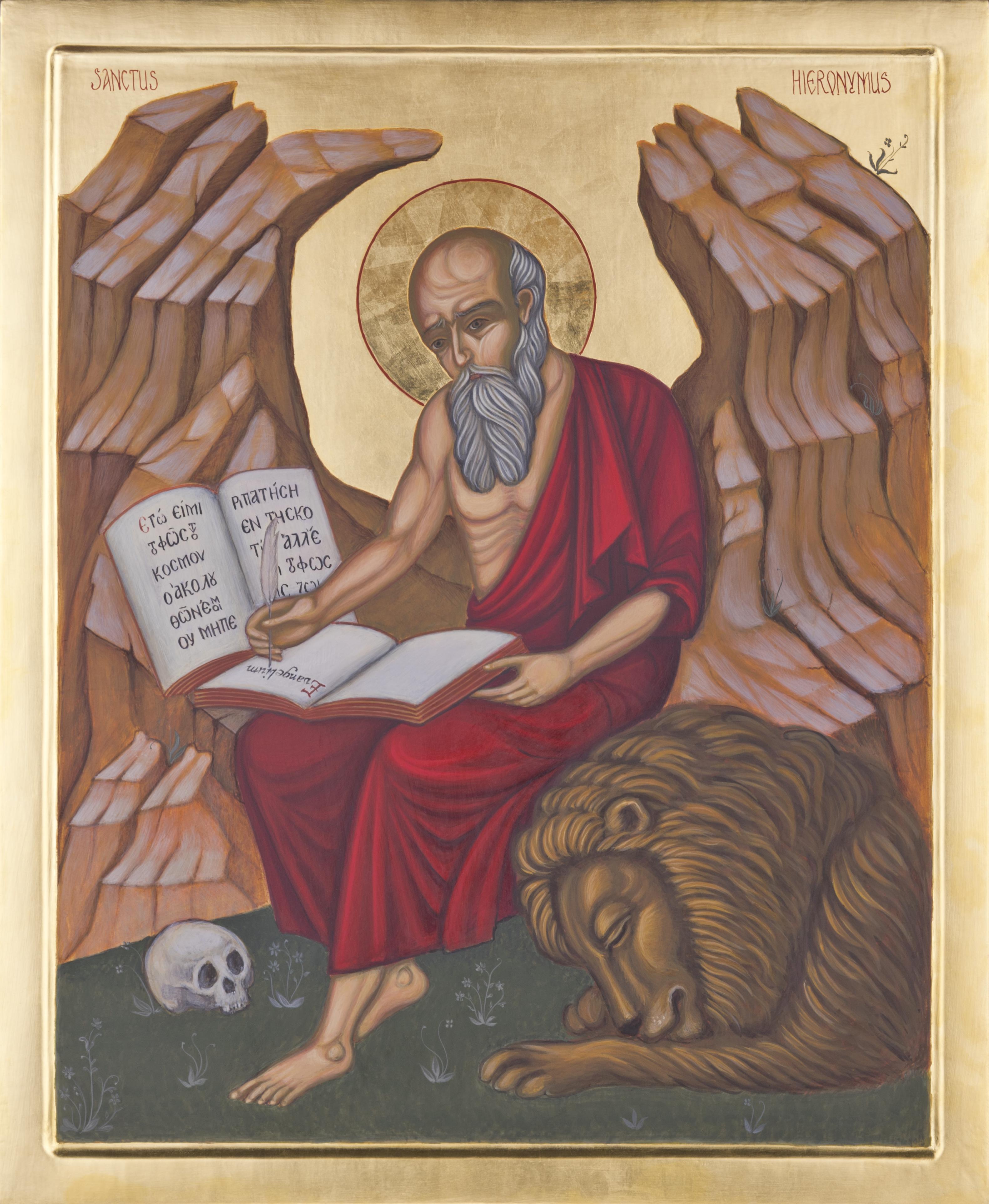 Ikona św. Hieronima