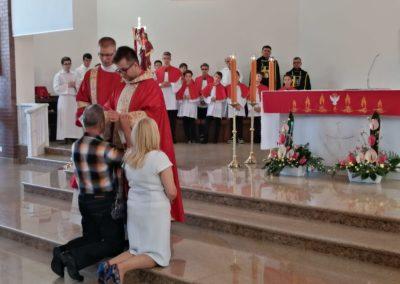 Msza św. Prymicyjna ks. Michała (zdjęcia p. A. Wojenka) 2019