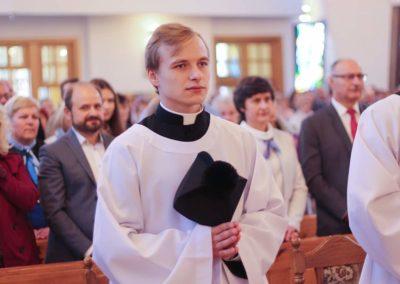 Obłóczyny kl. Grzegorza (zdj. WSDDW-P) 2019