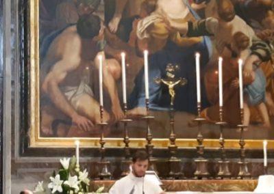 Podczas Pielgrzymki przy Grobie Św. Jana Pawła II (22 października)