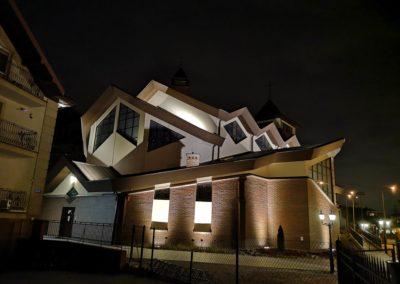 Instalacja Oświetlenia Kościoła 2019