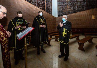 Przyjęcie br. Tadeusza do Zakonu Rycerzy Jana Pawła II