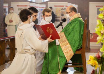 Promocja nowego lektora, V Niedziela Zwykła