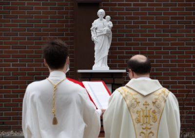 Poświęcenie figury św. Józefa – 1 maja